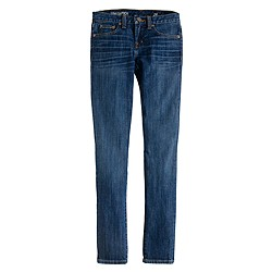 Tall toothpick jean in Huron wash
