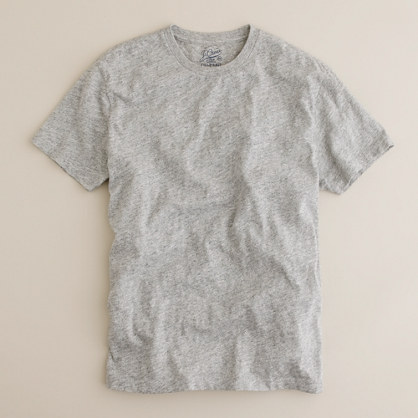 Tall field knit jaspé tee