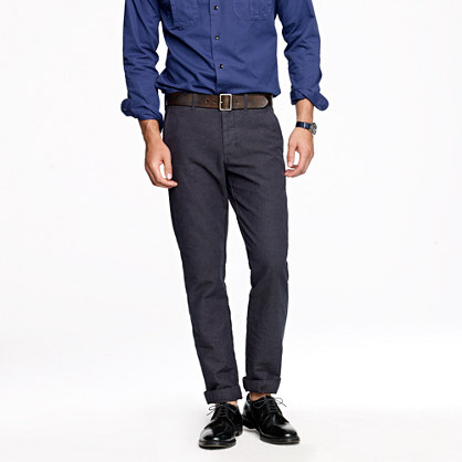 Wallace & Barnes slim fishtail pant
