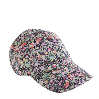 Liberty baseball cap in strawberry thief floral