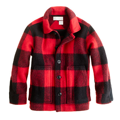 Boys' Woolrich John Rich & Bros.™ buffalo-check shirt-jacket