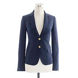 Collection schoolboy blazer in Italian cashmere