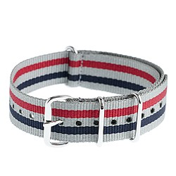 Stripe watch strap
