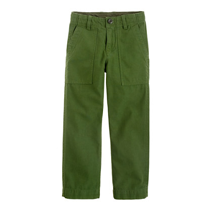 Boys' chino camp pant