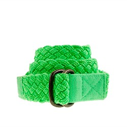Boys' braided belt