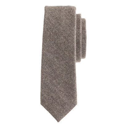 Fox Brothers wool herringbone tie