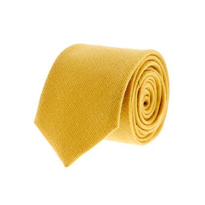 Wool hopsack tie