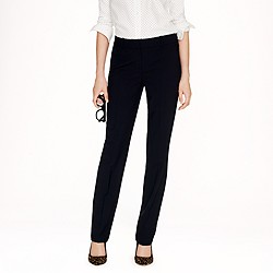Tall stovepipe trouser in stretch wool