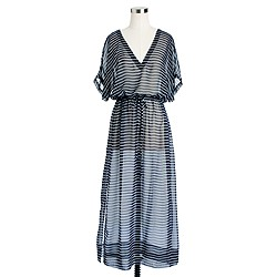 Rope stripe maxidress
