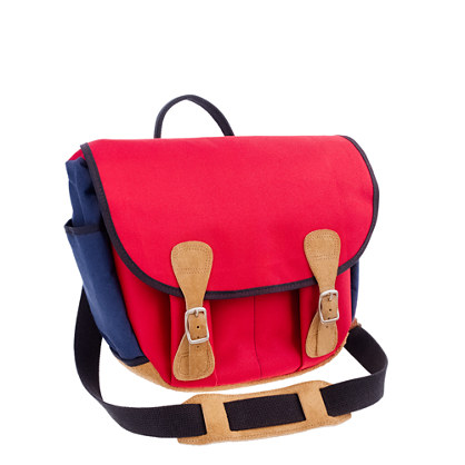 Billykirk® for J.Crew messenger bag