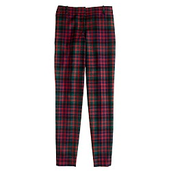 Café capri in red tartan