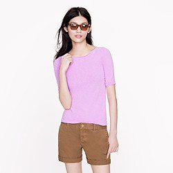 Painter elbow-sleeve boatneck tee