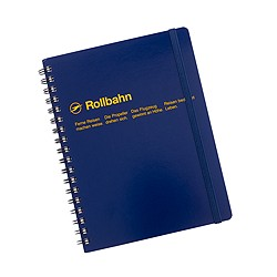 Rollbahn large spiral notebook