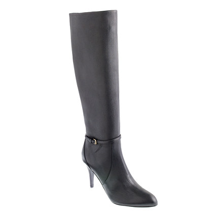 Keegan high-heel buckle boots