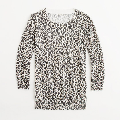Factory Charley sweater in leopard