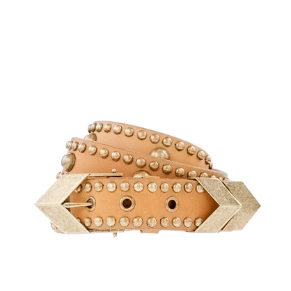 Pamela Love for J.Crew chevron belt