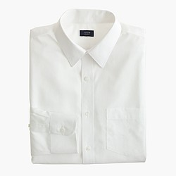 Slim non-iron dress shirt