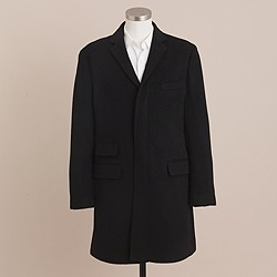 Mayfair topcoat in wool-cashmere