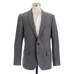 Ludlow elbow-patch sportcoat in Colburn English twee