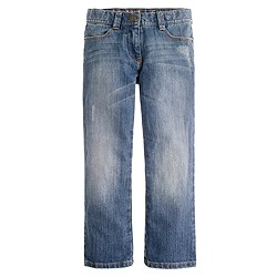 Girls' bootcut jean in faded wash