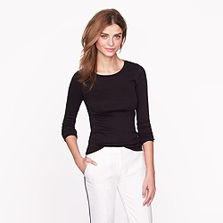 Perfect-fit long-sleeve tee