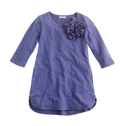 Girls' corsage tunic