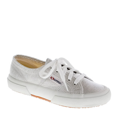 2750 Superga® lamé sneakers