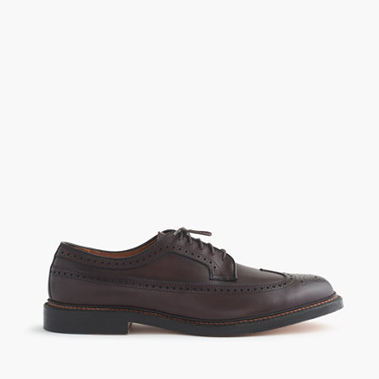 Alden® for J.Crew longwing bluchers
