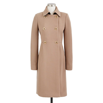 Double-cloth greatcoat