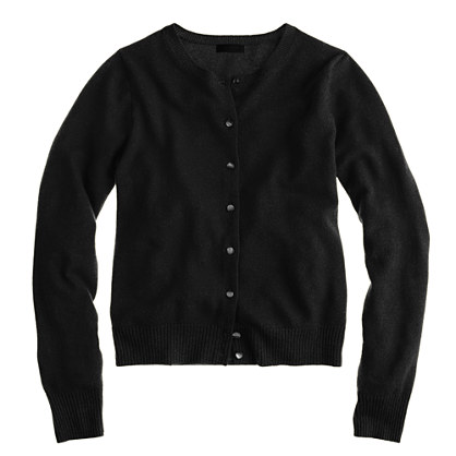 Collection cashmere crewneck cardigan