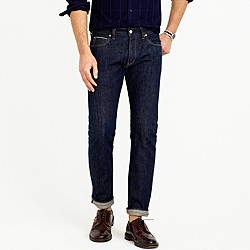 484 selvedge jean in raw indigo