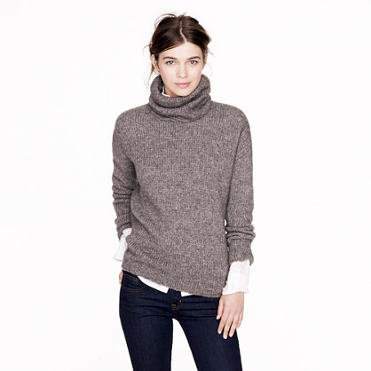 Nili Lotan® chunky turtleneck sweater