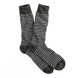 Variegated microstripe socks