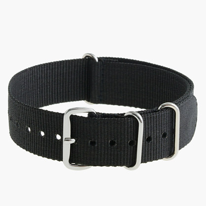 Solid watch strap