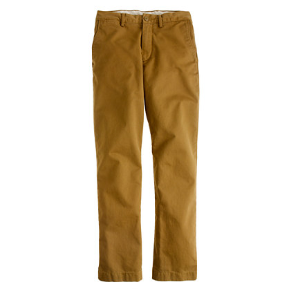 Broken-in chino in urban slim fit