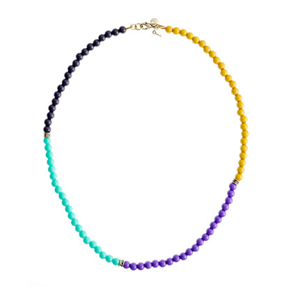 Girls' multicolor necklace