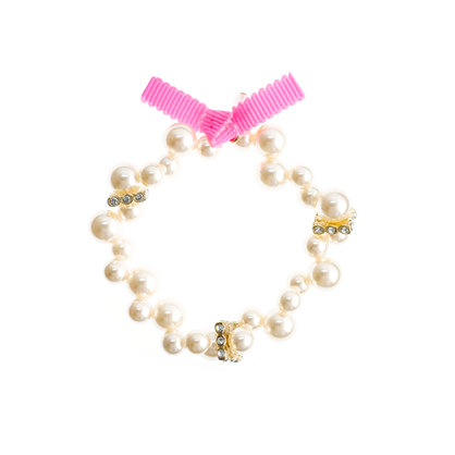 Girls' mini-pearl bracelet