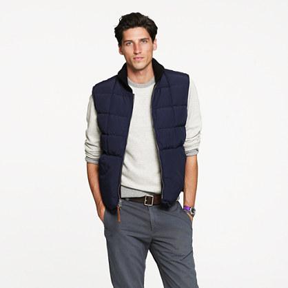 Wallace & Barnes reversible Fairbanks vest