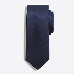 Factory solid silk tie