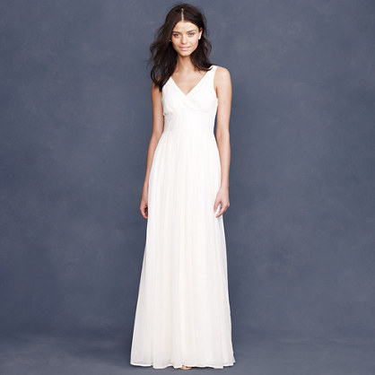 Sophia gown in silk chiffon