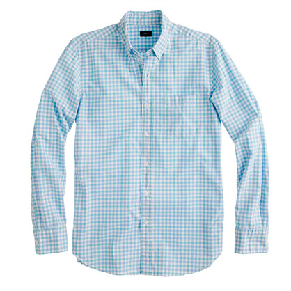 Secret Wash shirt in small check