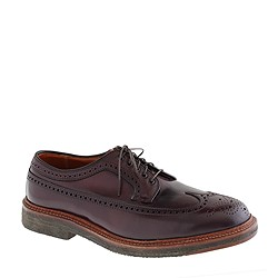 Alden® for J.Crew cordovan longwing bluchers