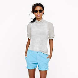 Broken-in boyfriend chino short