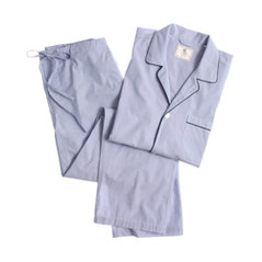 Cotton poplin pajama set