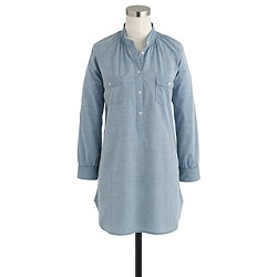 Pocket tunic in chambray