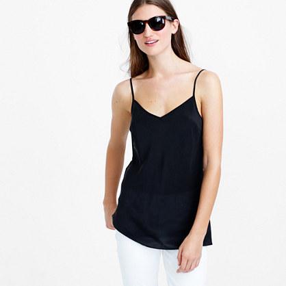 Silk pintuck blouse   blouses   Womens shirts & tops   J.Crew