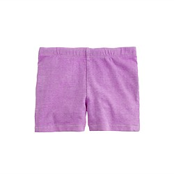 Girls' tumble short in neon solid