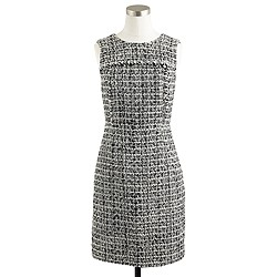 Noir tweed dress