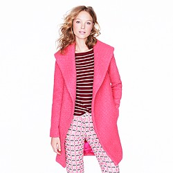 Collection shawl-collar coat