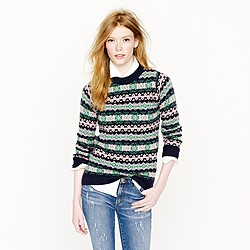 Harley of Scotland Fair Isle sweater